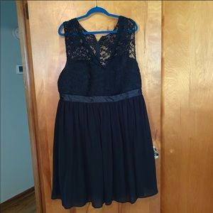 Torrid Black Lace Holiday Dress